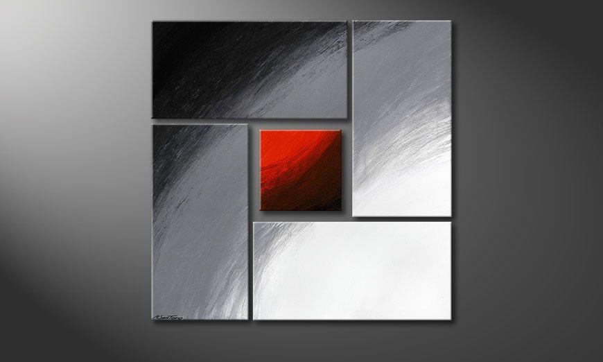 Das Bild Internal Heat 90x90x2cm (2 und 4cm)