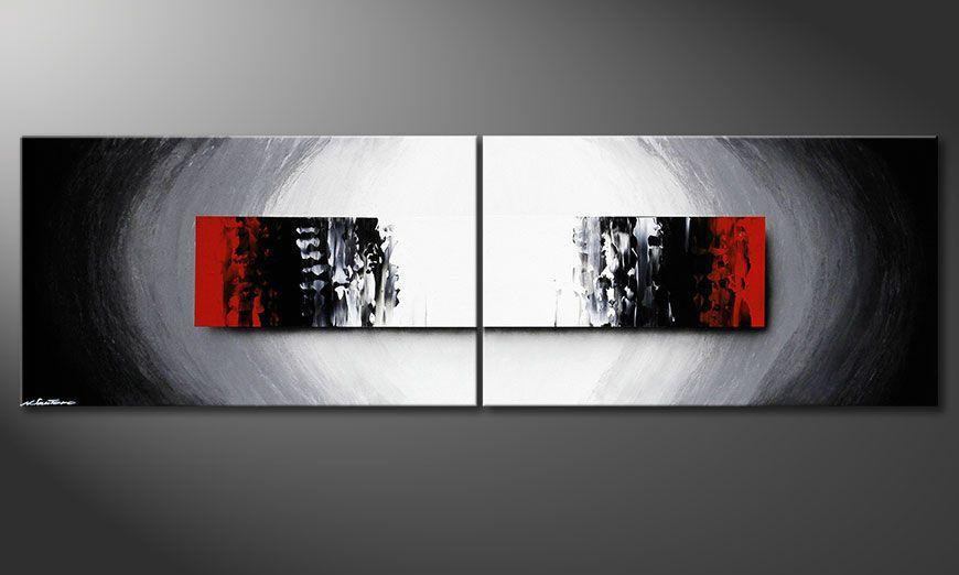 Das Wandbild Deep Space in 200x60x2cm