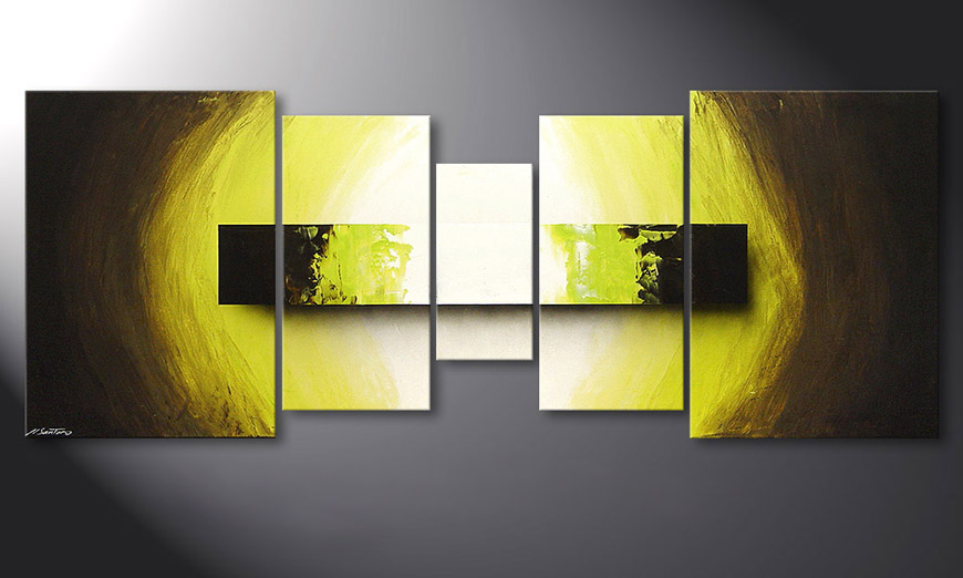Das Wandbild Green Vision 180x70x2cm