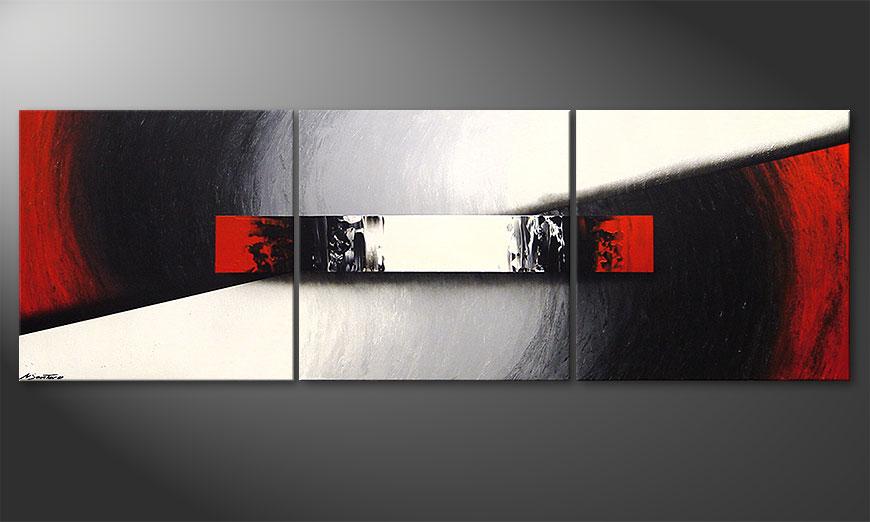 Das Wohnzimmerbild Awakening of Spirit 210x70x2cm