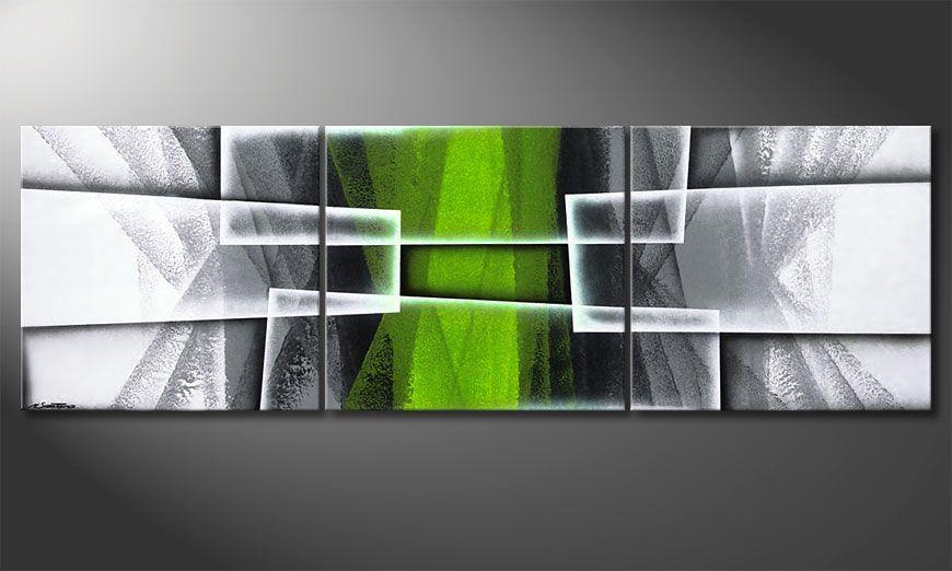 Das Wohnzimmerbild Quiet Hope 210x70x2cm
