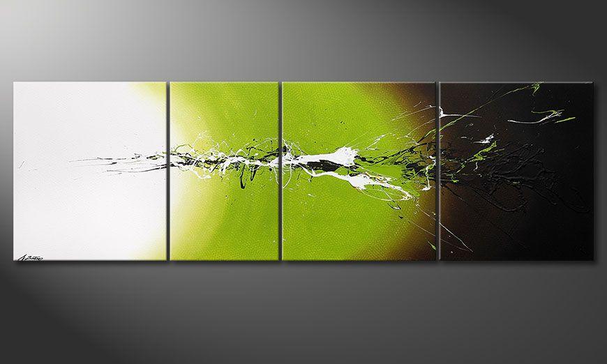Das große Gemälde Juicy Splash 260x80x2cm
