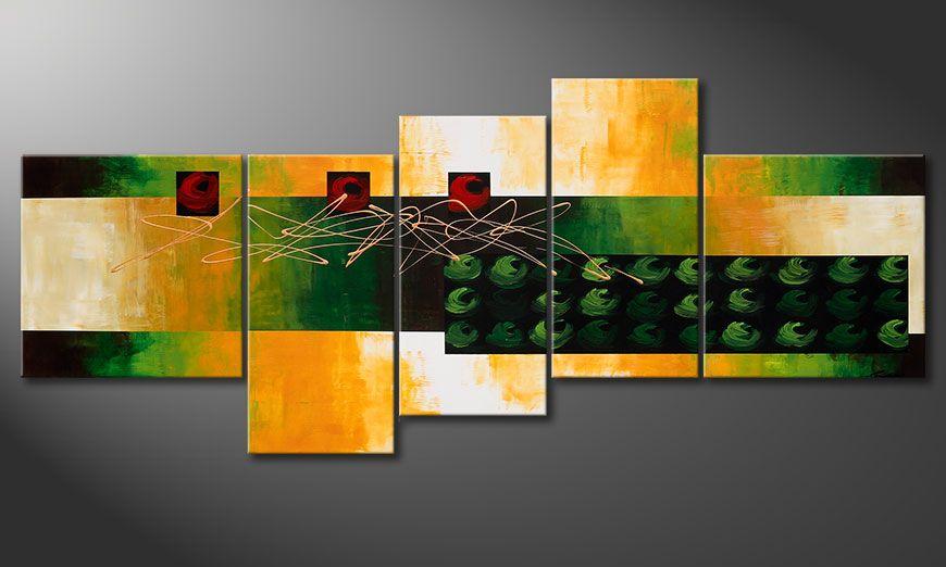 Das große Wandbild Quiet Love 240x100x2cm