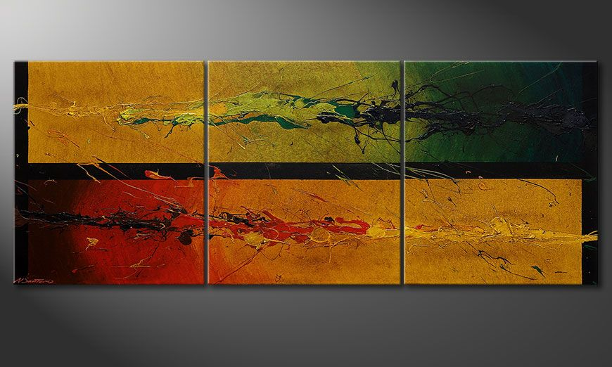 Das moderne Bild Blowing Elements 180x70x2cm