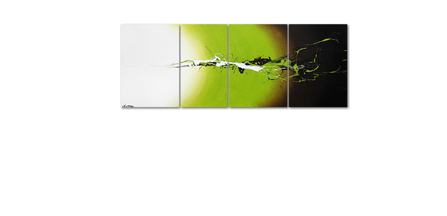 Das Wandbild Juicy Splash in 190x70cm