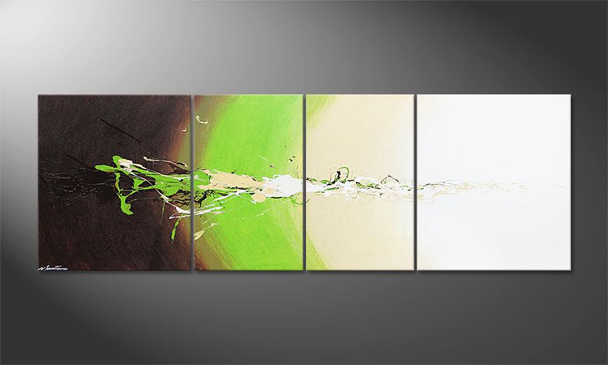 Das große Gemälde Fresh Splash 240x80x2cm
