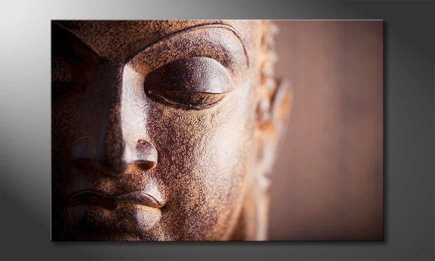 Das Buddha Bild Silence