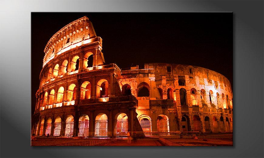 Das Leinwandbild Colosseum