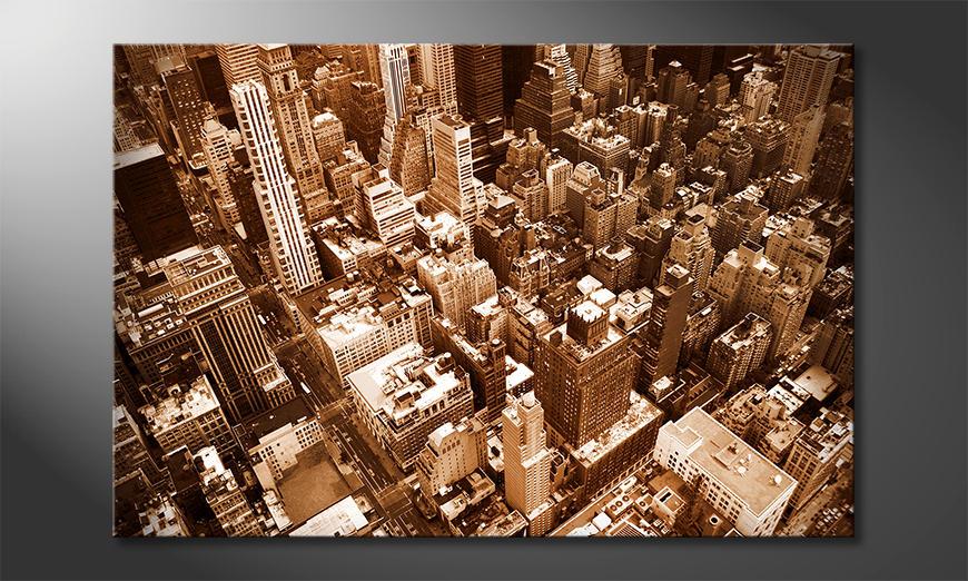 Das Leinwandbild New York City