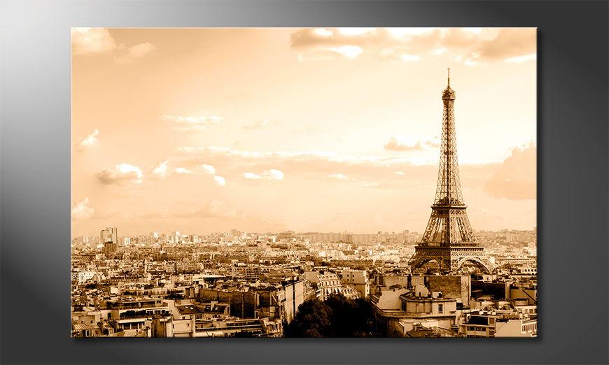 Das Leinwandbild Paris II