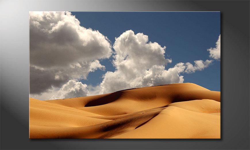 Das Leinwandbild Sand Dunes