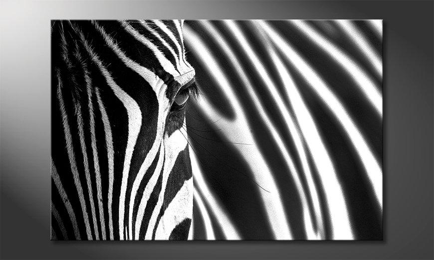 Das Wandbild Animal Stripes