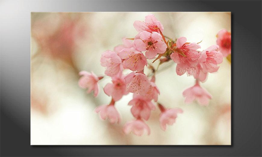 Das Wandbild Cherry Blossoms