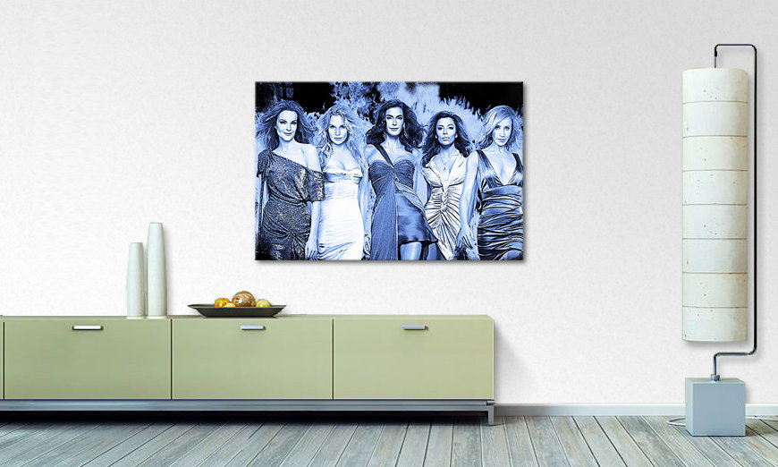 Das Wandbild Desperate Housewives