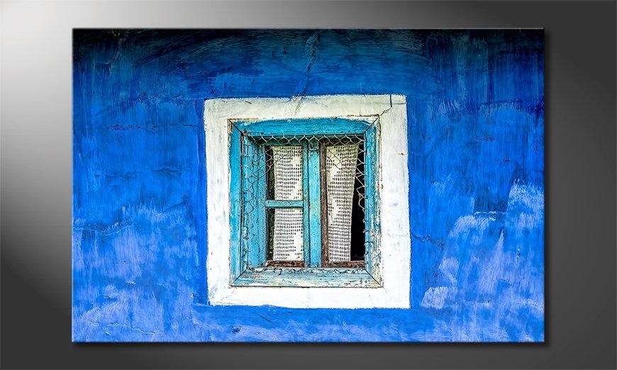 Das Wandbild Old Window