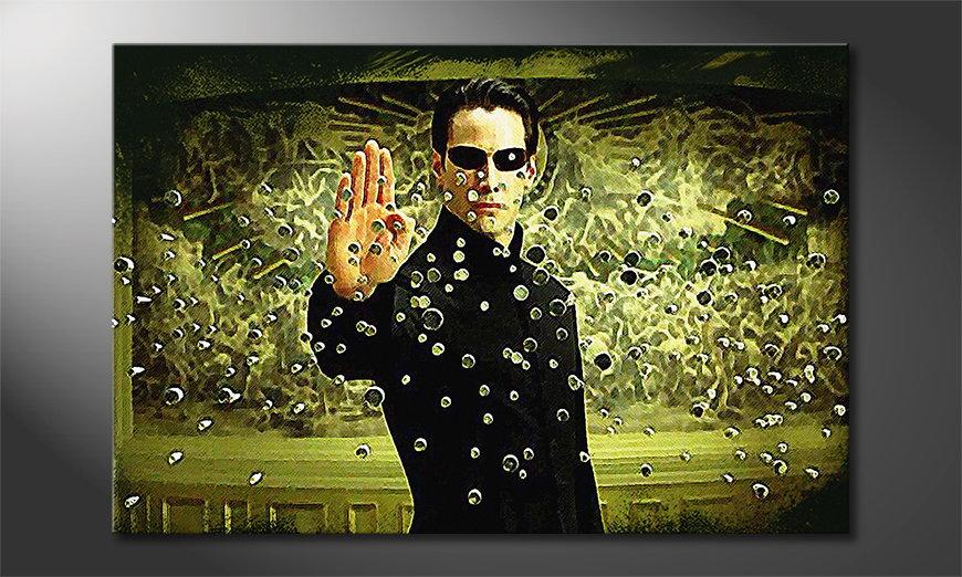 Das gedruckte Bild Matrix Moment