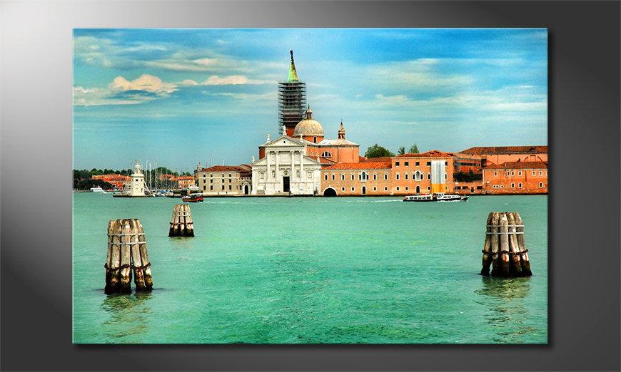 Das gedruckte Bild Venice in 6 Größen