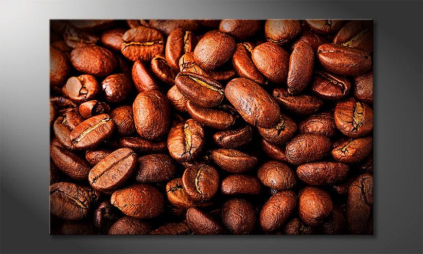 Das moderne Wandbild Coffee
