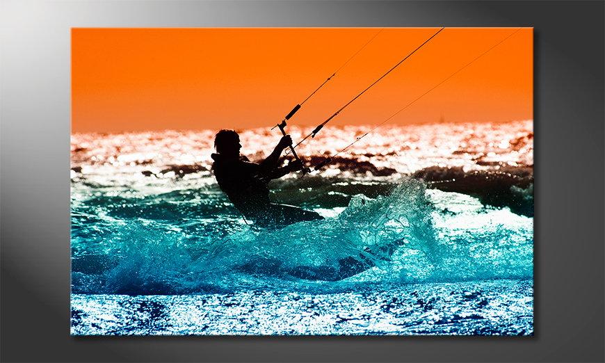 Das moderne Wandbild Kite