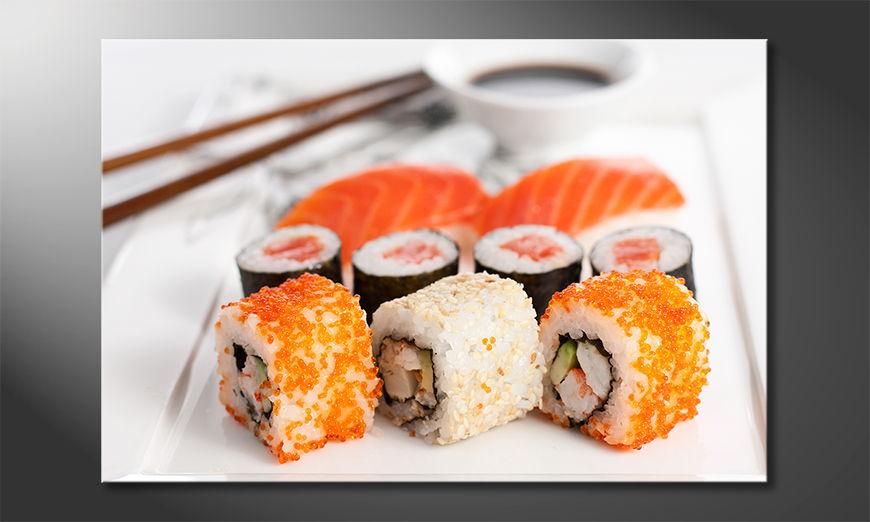 Das moderne Wandbild Sushi