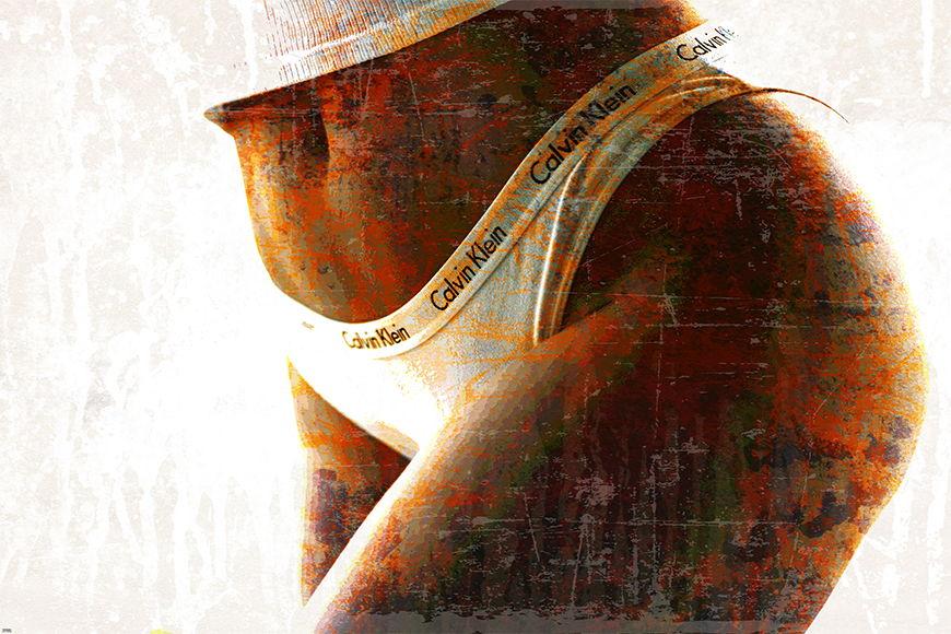 Erotische Fototapete Calvin ab 120x80cm