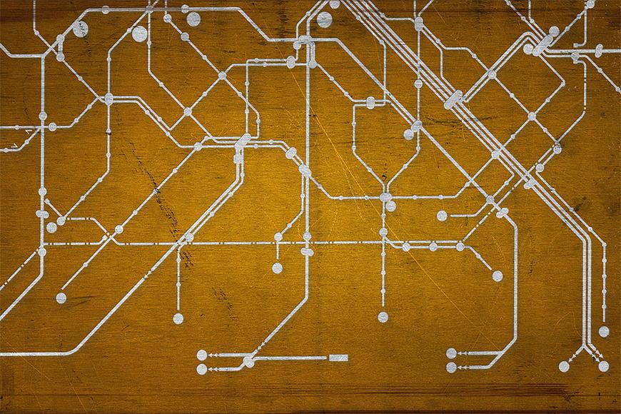 Fototapete Metro Paris ab 120x80cm
