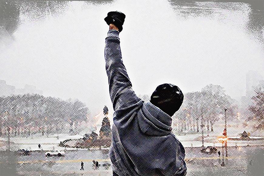 Fototapete Rocky Moment in S bis XXL