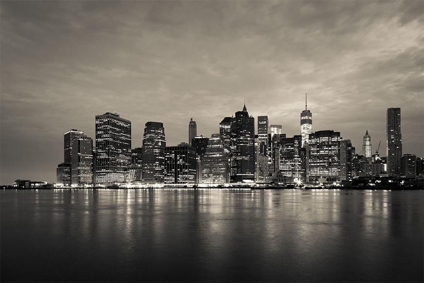 New York Foto-Tapete Manhattan Night