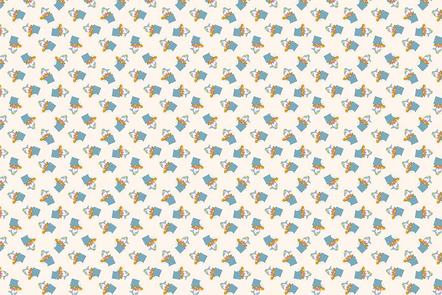 Tapete Pinguin im Sommer ab 120x80cm