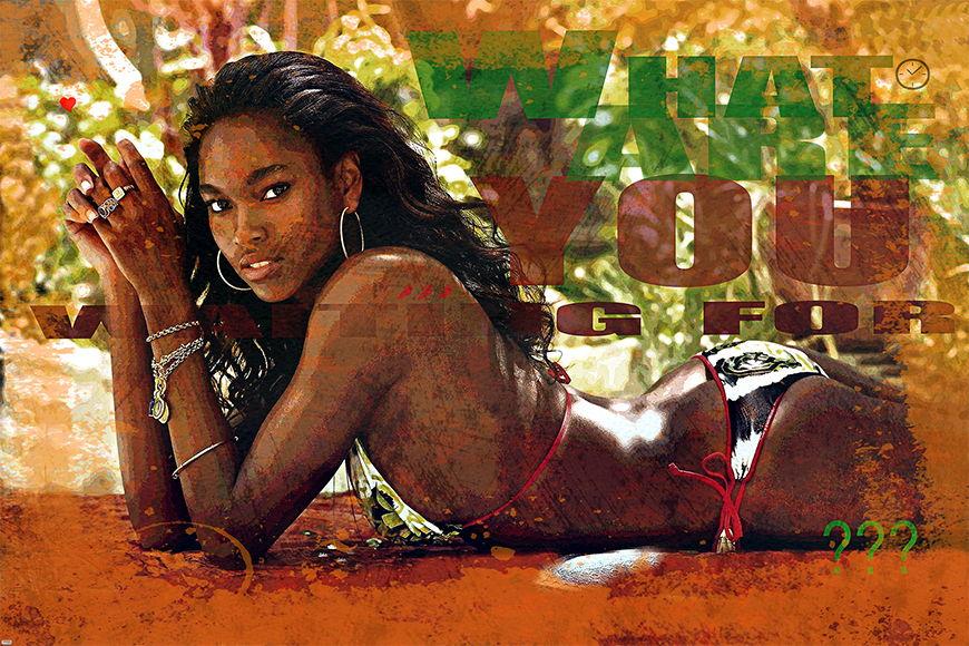Vlies Fototapete African Beauty in S bis XXL