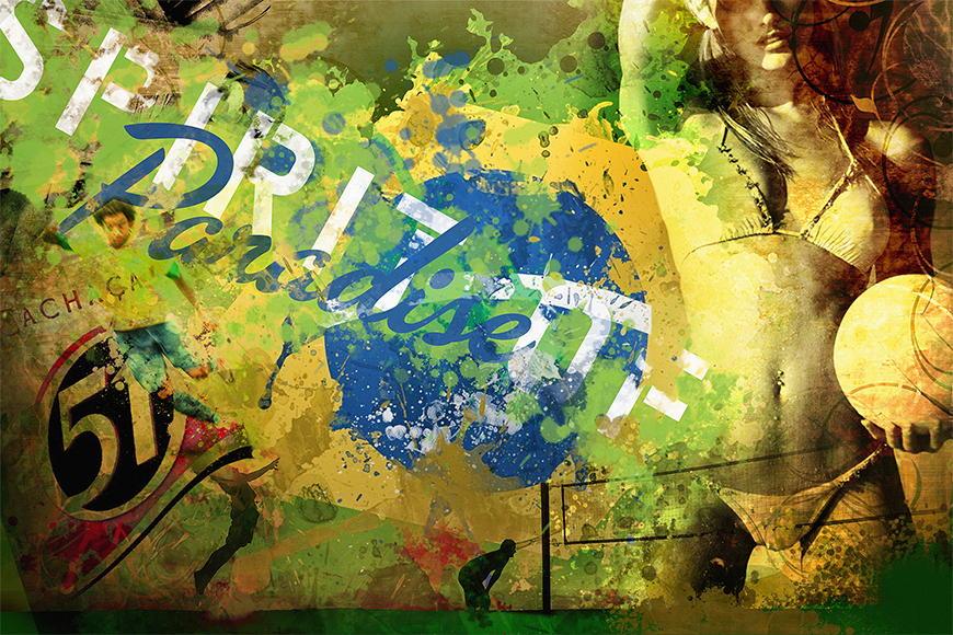 Vlies Fototapete Brazil ab 120x80cm