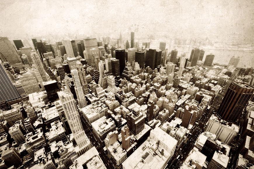 Vlies Fototapete Old New York ab 120x80cm