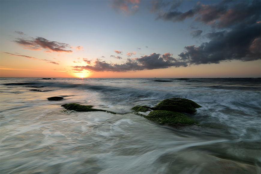 Vlies Fototapete Sunset in 6 Größen
