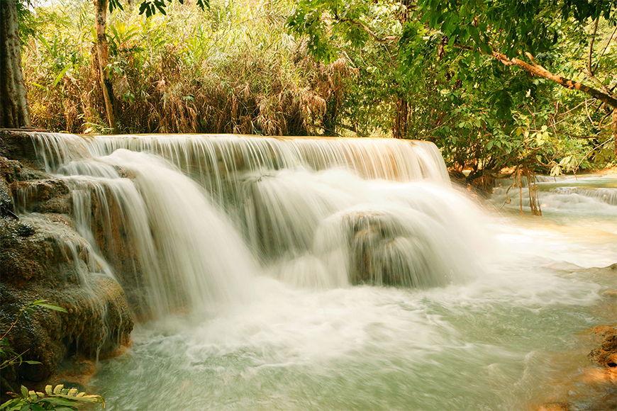 Vlies Fototapete Wasserfall ab 120x80cm
