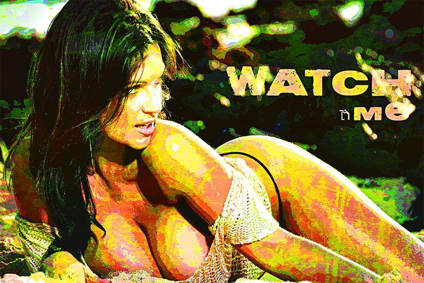 Vlies Fototapete Watch Me ab 120x80cm
