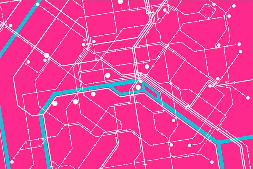 Vlies-Tapete Metro Paris ab 120x80cm